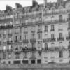 Apartments lining Ile de la Cite.