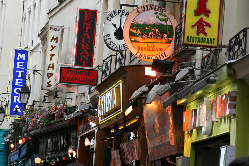 More scenes from the Latin Quarter.