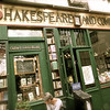 The famous Shakespeare and Company Bookstore.