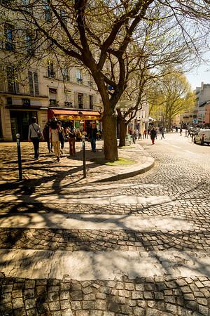 Paris, Montmartre, Louvre