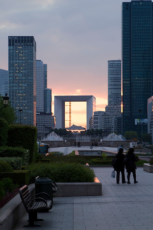 LaDefense Sunset