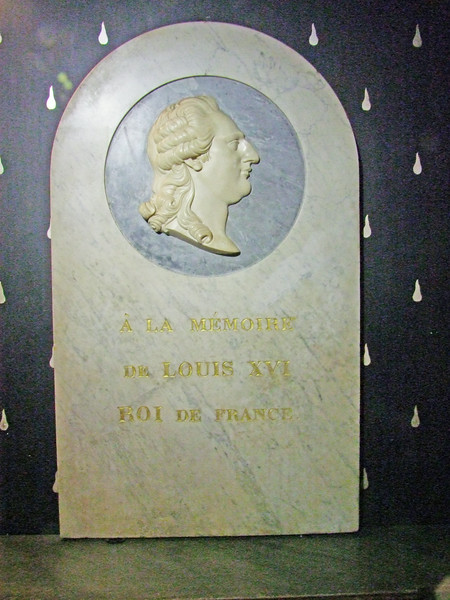 King Louis XVI who was executed by the French people via the guillotine.
