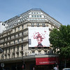 Famous Parisian department store, Galeries Lafayette.