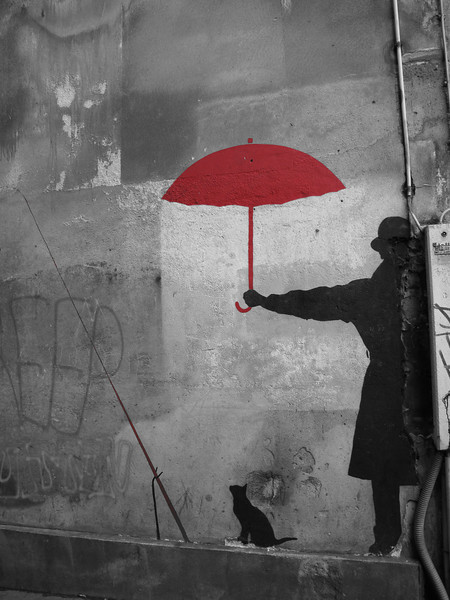 Red Umbrella, Ru du Chat, #2