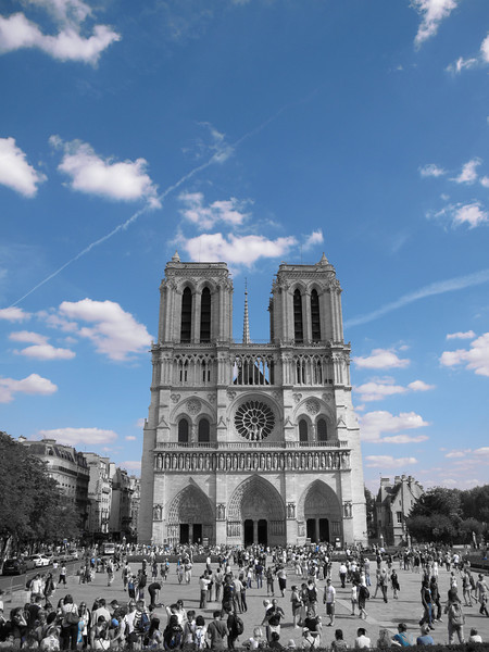 Notre Dame Square and Sky