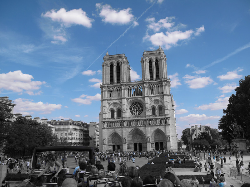 Notre Dame Square, by Tour Bus