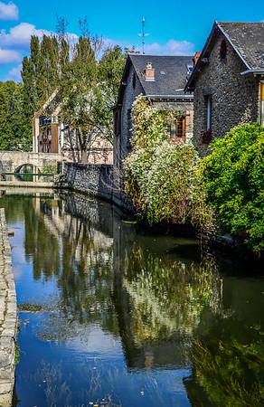 Chartres scene