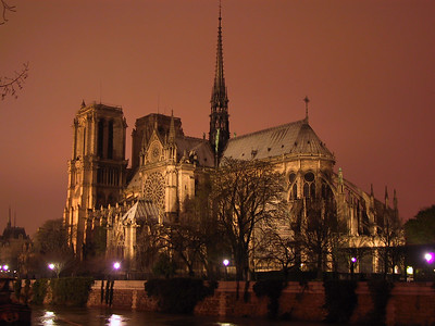 Notre Dame Cathedral (Copyright 2001 Steven G. Johnson) - We didn't take this photo, but it shows the magnificence of this church.