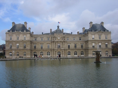 Luxembourg Palace is now the home of the French Senate.