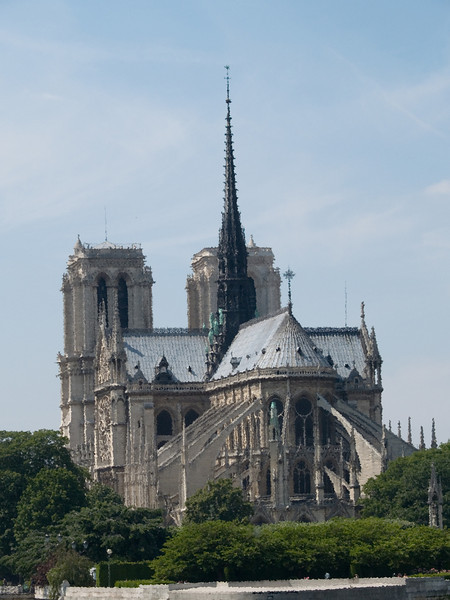 Looking West to Notre Dame