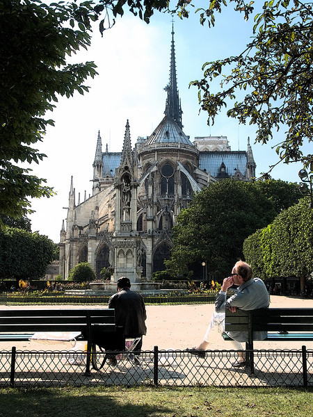 Late Afternoon, Notre Dame Gardens