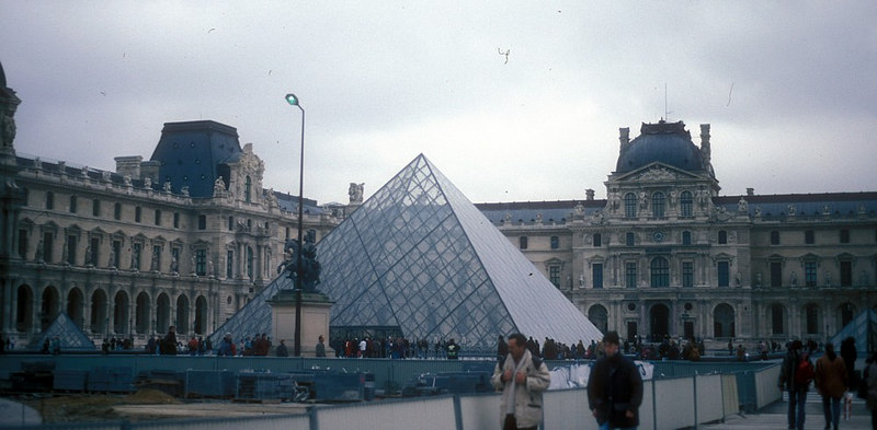 The Louvre, Palace and Museum, parts of which date from the 13th Century.