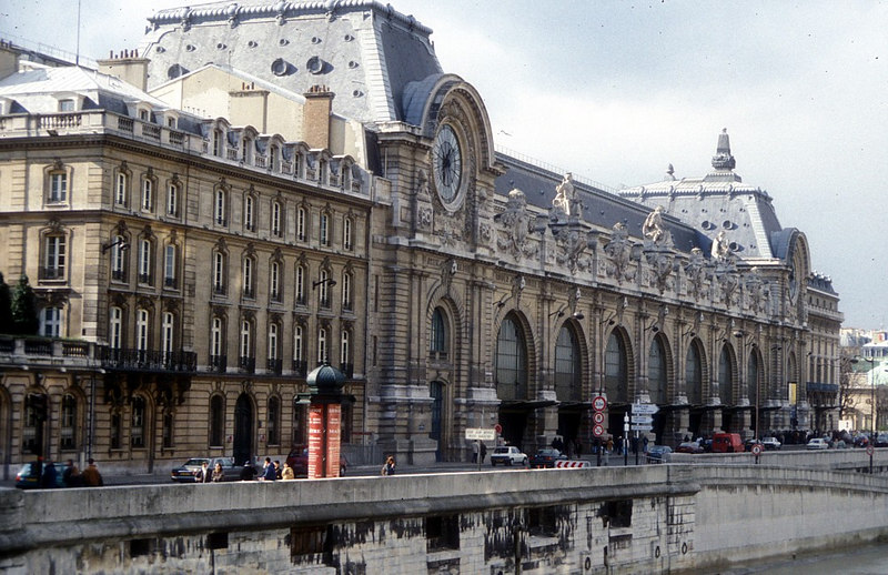 The Musee D'Orsay (Orsay Museum), which was dubbed 'the most beautiful museum in Europe' by the press, is on the Left Bank of the Seine. The building was originally opened in 1900 as the Gare D'Orsay, the new terminus of the Paris-Orleans Railway. The station was closed in 1939 and the building went into a long slow decline until 1973 when French President Georges Pompidou declared it a national monument and arranged for it to become an art museum covering the half century from Napoleon III's New Empire to the beginnings of Cubism, thus filling a gap between the ancient art at the Louvre and the modern art at the Pompidou Centre.