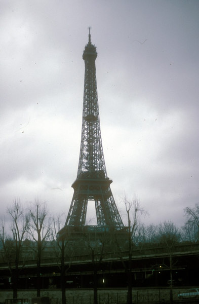 The 1050-feet high Eiffel Tower was created by engineer Gustave Eiffel for the World Fair in Paris in 1889. Its 15,000 metallic pieces weigh a total of 7000 tons