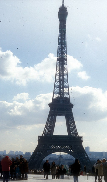 Eiffel Tower from the Champs-de-Mar