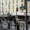 Cafe Le Select on Blvd Montparnasse. La Rononde is just a block away as is cafe Le Dome and across the street. Anther Hemmingway bar.