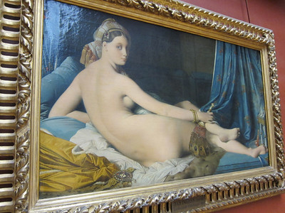 La Grande Odalisque, by Ingres