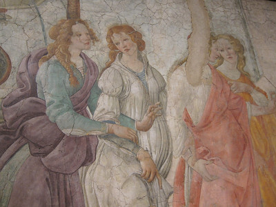 A Botticelli fresco