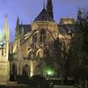 Outside the Notre Dame ambulatory