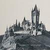 Reichsburg Castle sketch