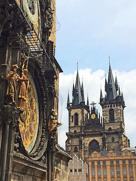 Astrological Clock & Tyn Church