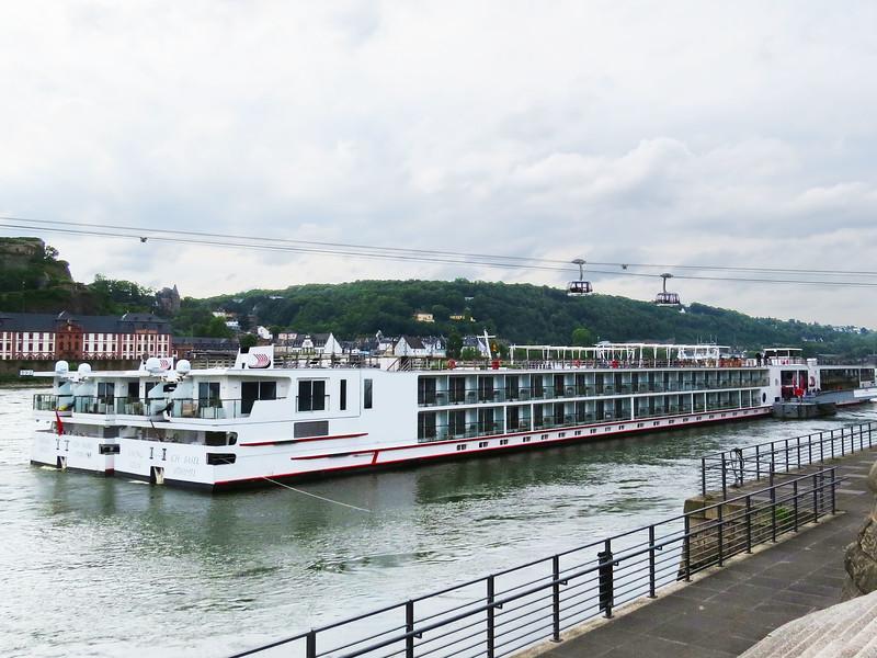 Viking Idum at confluence of Moselle & Rhine