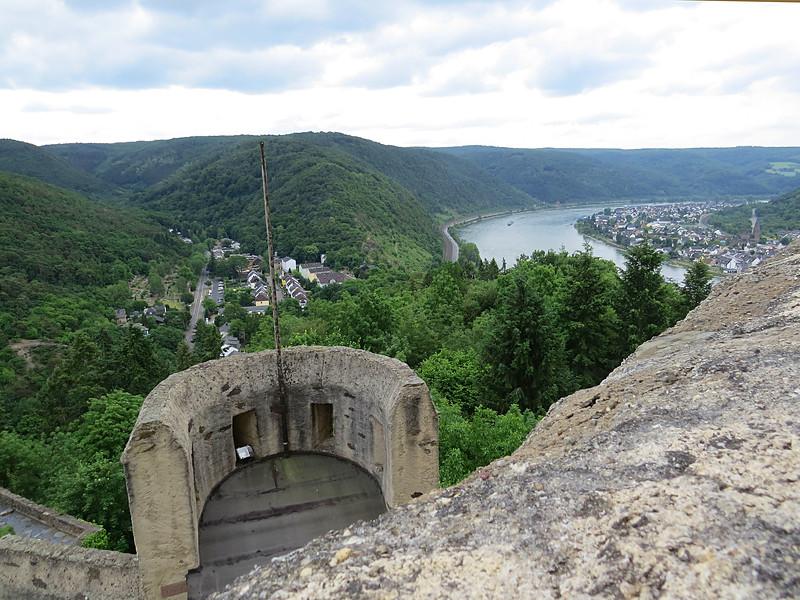 Marksburg Castle lookout