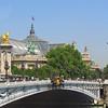 Pont Alexandre III & Grand Palais dome