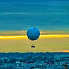 Tethered balloon over Paris