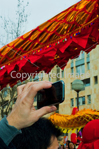 Paris, France, Street Scenes, Belleville Chinatown, People Celebrating Chinese New Years
