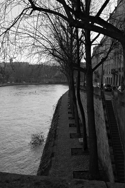La Seine, along Ile St. Louis