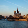 Notre Dame Cathedrale , along the Seine