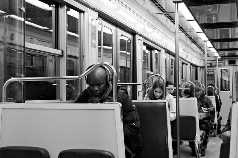 metro during quiet hours