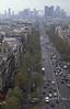 009  Axe Historique Paris - Arc de Triomphe, Av  de la Grande Armée vanaf Arc Triomphe