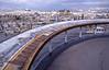 014  Paris - Dak Samaritaine, uitzicht op Sacre Coeur en Saint Eustache en tableau d'orientation