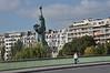 019  Paris - Pont de Grenelle, Statue of Liberty