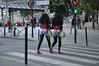 003  Paris - Black twin at Jaurès