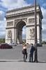 078  Parijs - Place de l'Étoile - Arc de Triomphe