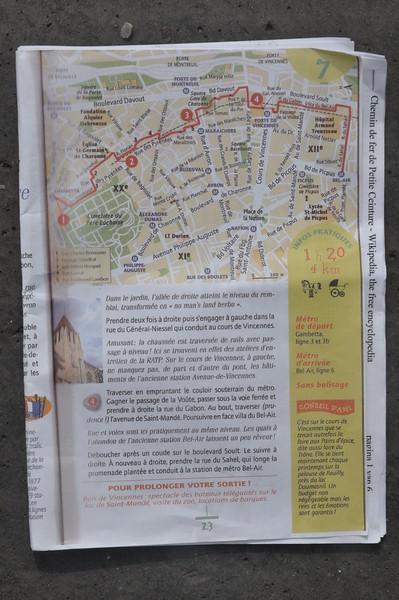 034  Parijs - Chemin de Fer de Petite Ceinture (20th)