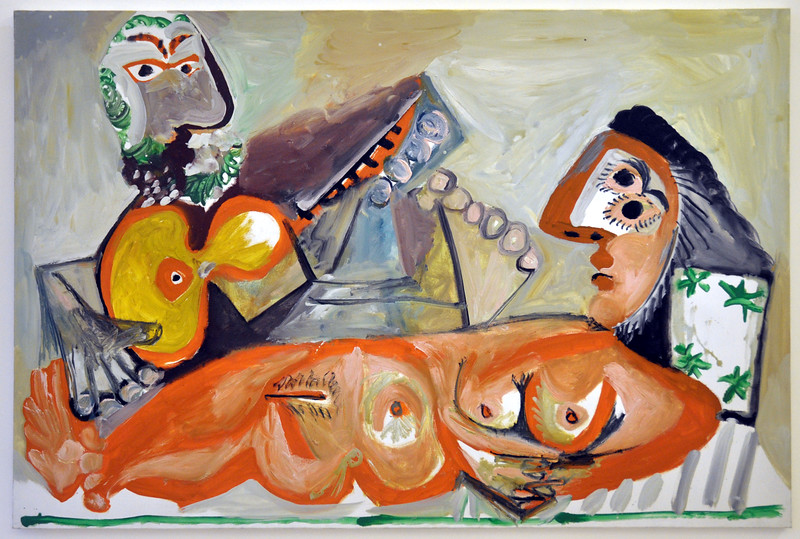 014  Parijs - Marais, Musée Picasso