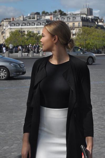 087  Parijs - Place de l'Étoile - Arc de Triomphe