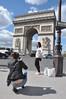 092  Parijs - Place de l'Étoile - Arc de Triomphe