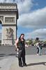 091  Parijs - Place de l'Étoile - Arc de Triomphe
