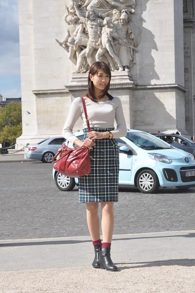 095  Parijs - Place de l'Étoile - Arc de Triomphe