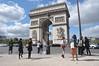 094  Parijs - Place de l'Étoile - Arc de Triomphe