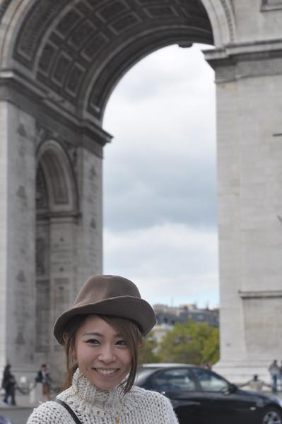 080  Parijs - Place de l'Étoile - Arc de Triomphe