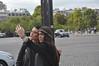 079  Parijs - Place de l'Étoile - Arc de Triomphe