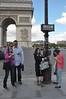 081  Parijs - Place de l'Étoile - Arc de Triomphe