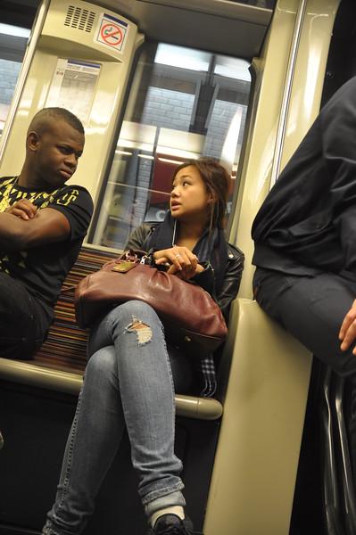 098  Parijs - Subway