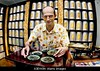 "A3EW0N PARIS France Tea Store ""Palais des Thes"" in Le Marais Area Portrait of French Tea Specialist and Portrait ""Small Business Owner"""